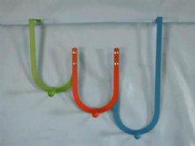 Colorful Over Door Hangers with 3 coat hooks